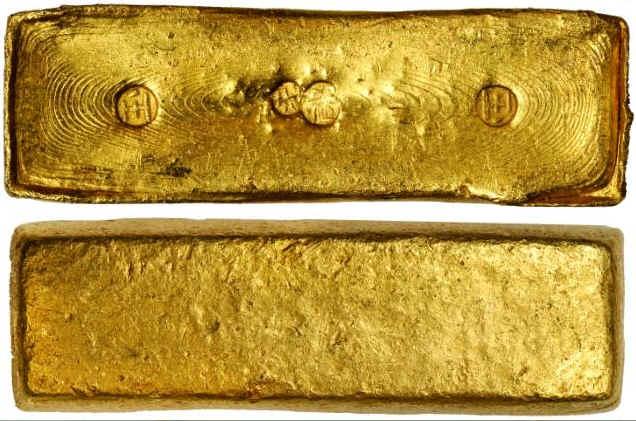 Gold from VOC Geldermalsen