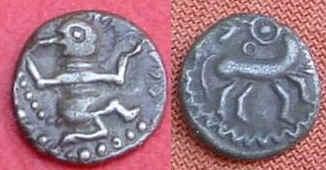 ubische Münze